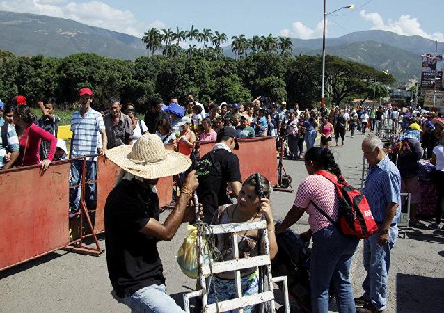 Frontera entre Venezuela y Colombia (imagen referencial)