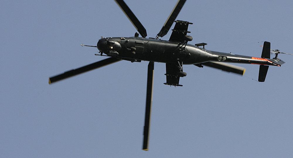 Helicóptero Mi-35M (archivo)