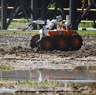 Un robot de reconocimiento de contaminación radioactiva y química