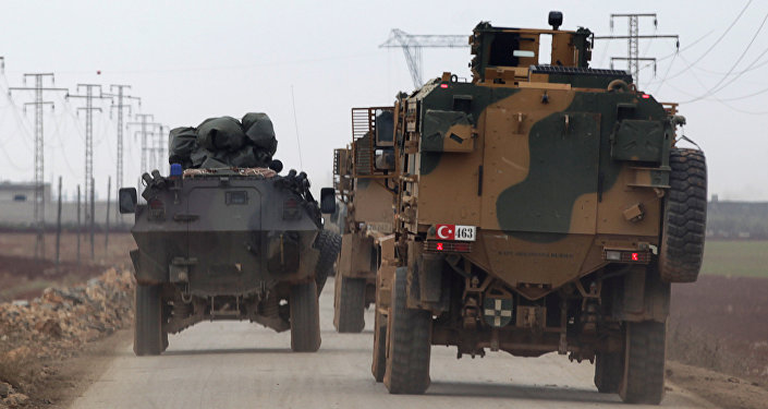 Los militares turcos en Siria