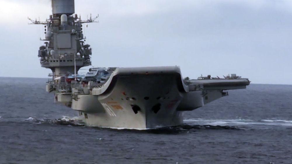 Cómo operan las aeronaves de combate rusas del portaviones Almirante Kuznetsov