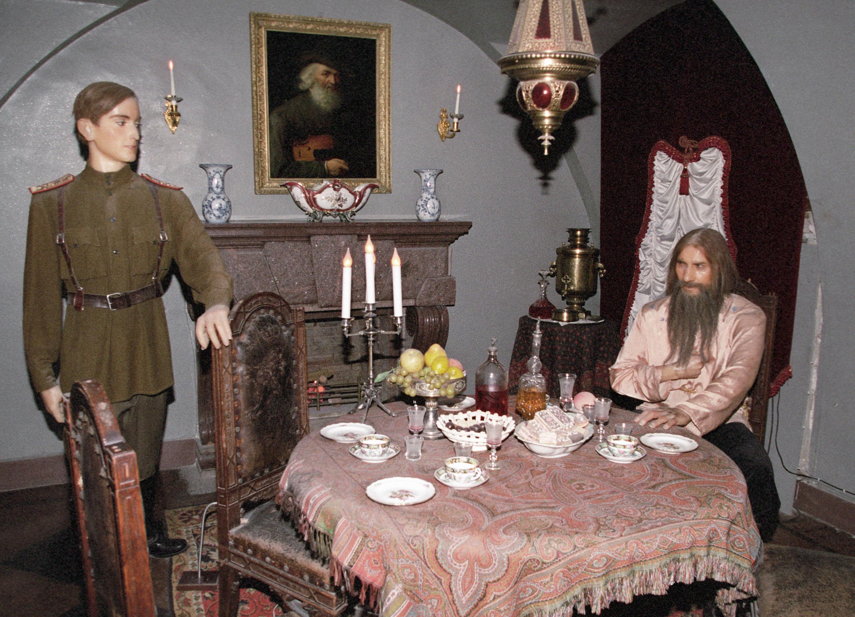 La exposición, dedicada al asesinato de Grigori Rasputín