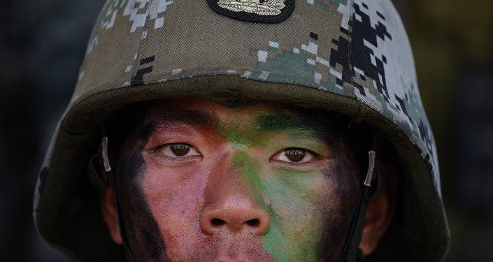 Soldado del Ejército de China