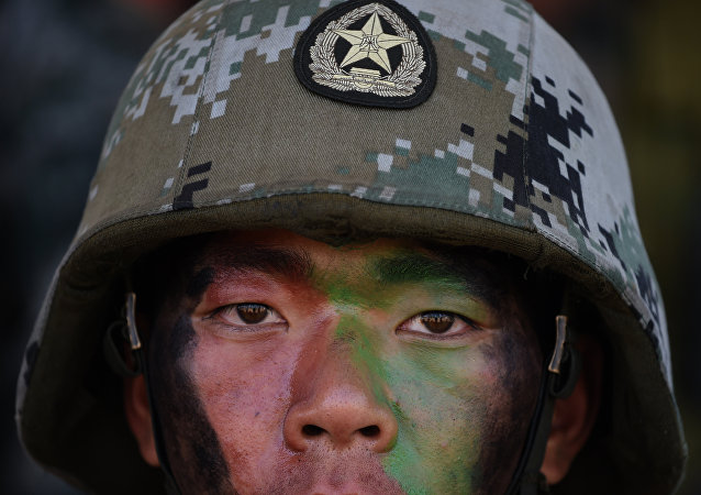 Soldado del Ejército de China (imagen referencial)