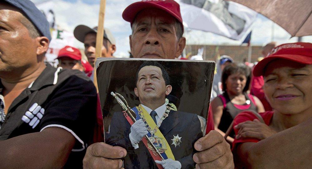 Chavistas (archivo)