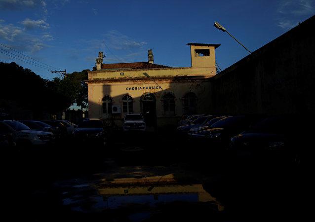 La cárcel en Manaos, Brasil