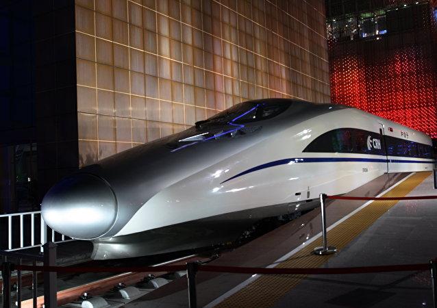 Tren de alta velocidad chino (archivo)