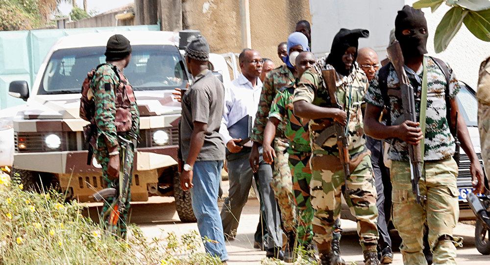 Militares amotinados en Costa de Marfil