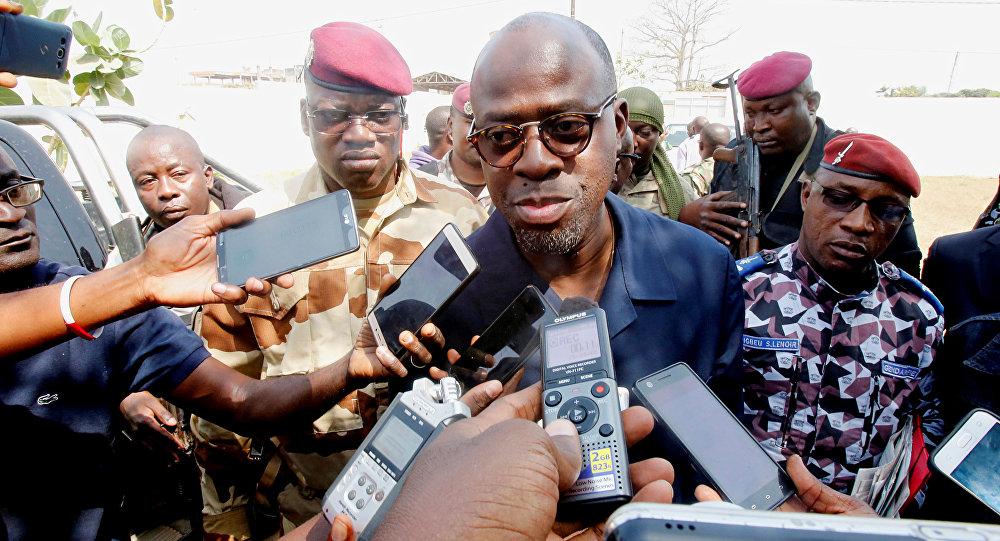 Alain-Richard Donwahi, ministro de Defensa de Costa de Marfi