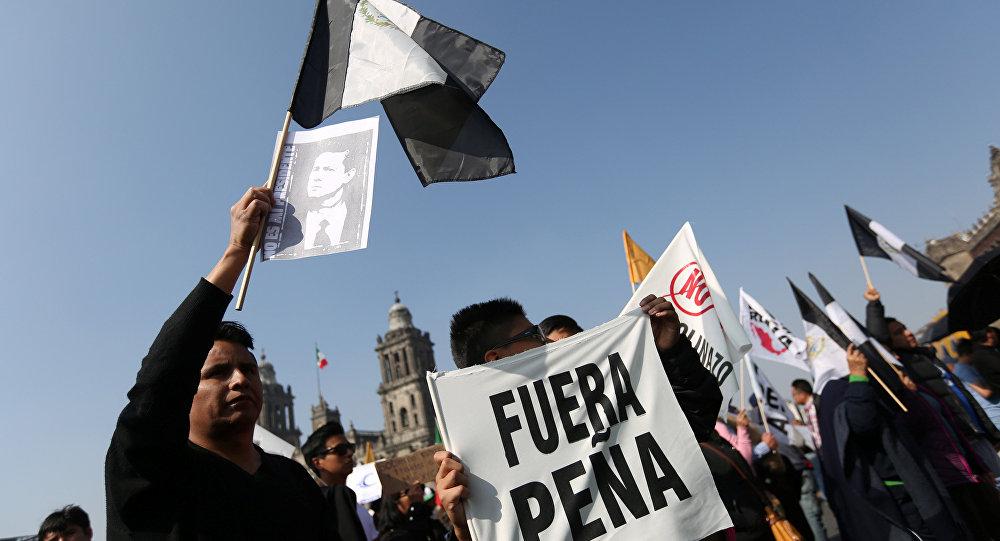 Protestas contra el gobierno de Enrique Peña Nieto