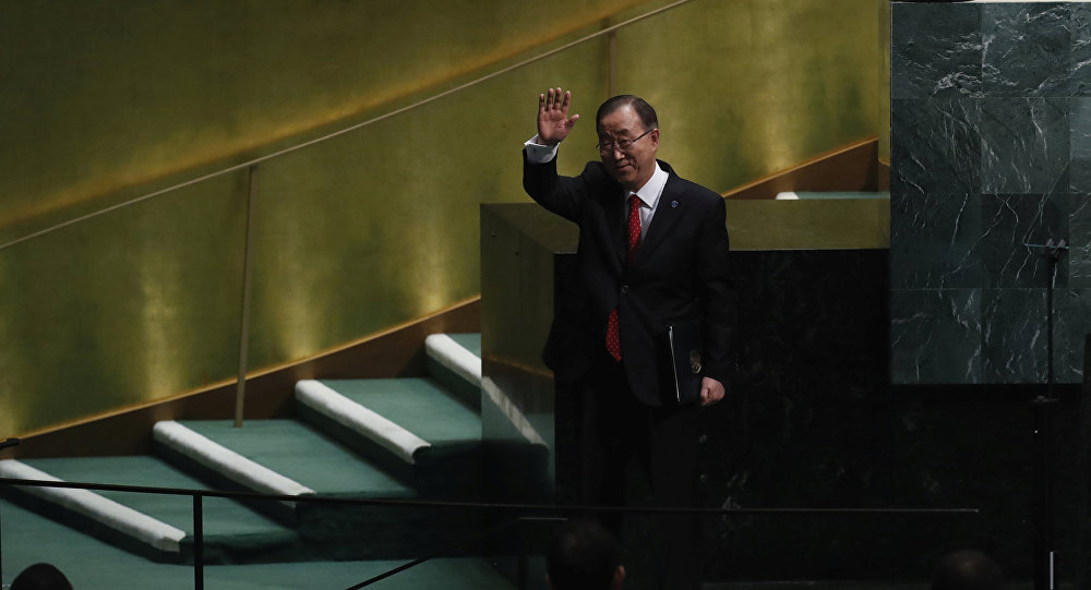 Ban Ki-moon, exsecretario general de la ONU