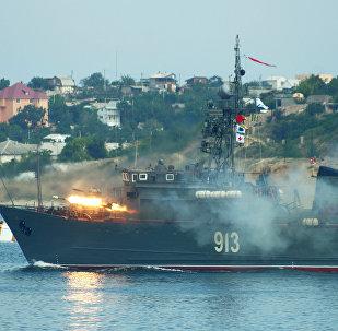 Dragaminas de la Armada Rusa (archivo)