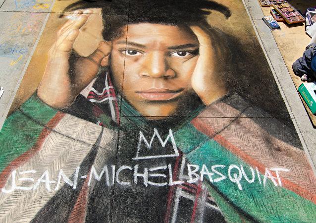 Retrato de Jean-Michel Basquiat
