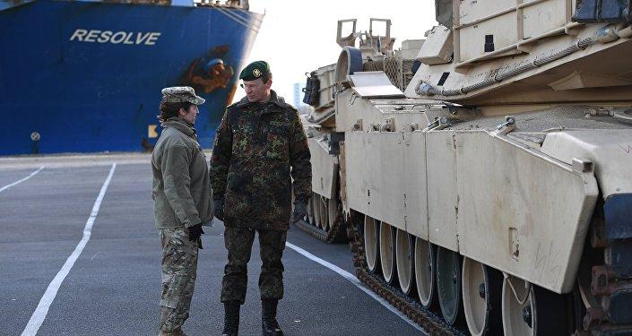 Fuerzas de EEUU llegan a Alemania