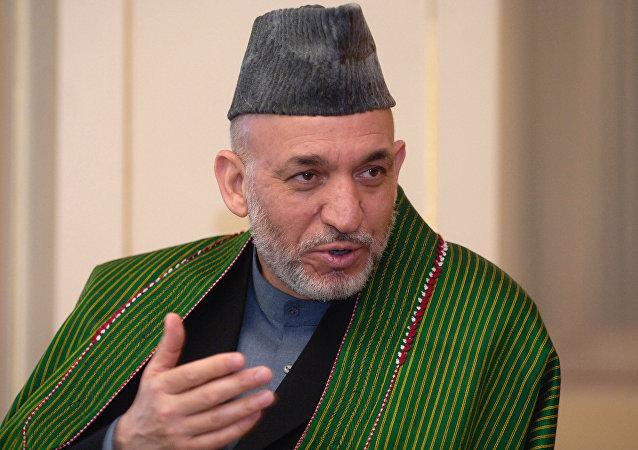 Hamid Karzai, expresidente de Afganistán