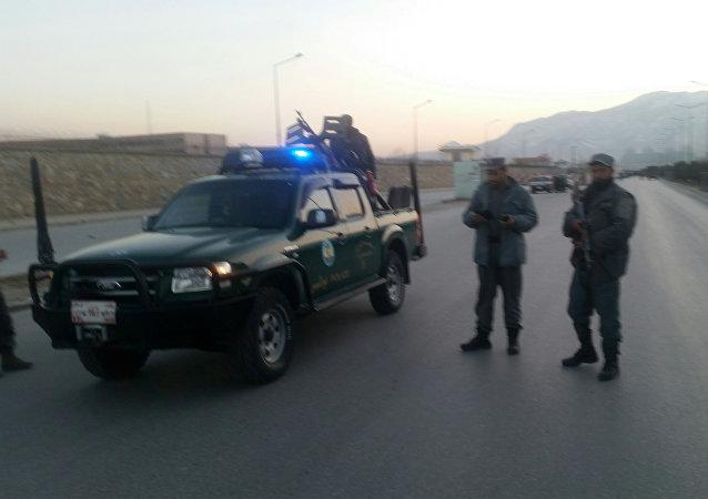 Policía afgana en Kabul (archivo)