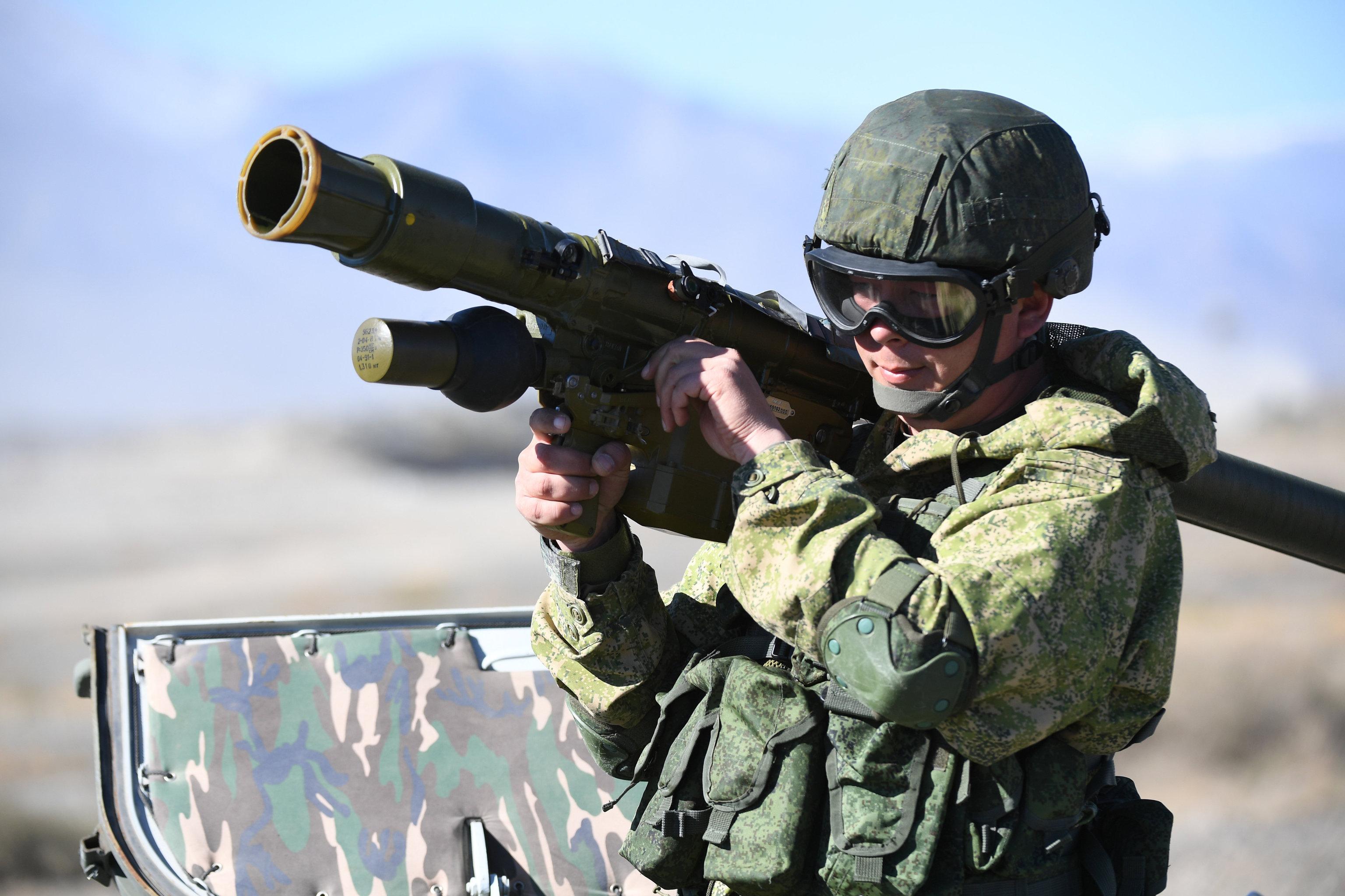 El sistema de defensa aérea portátil —Manpads— Igla