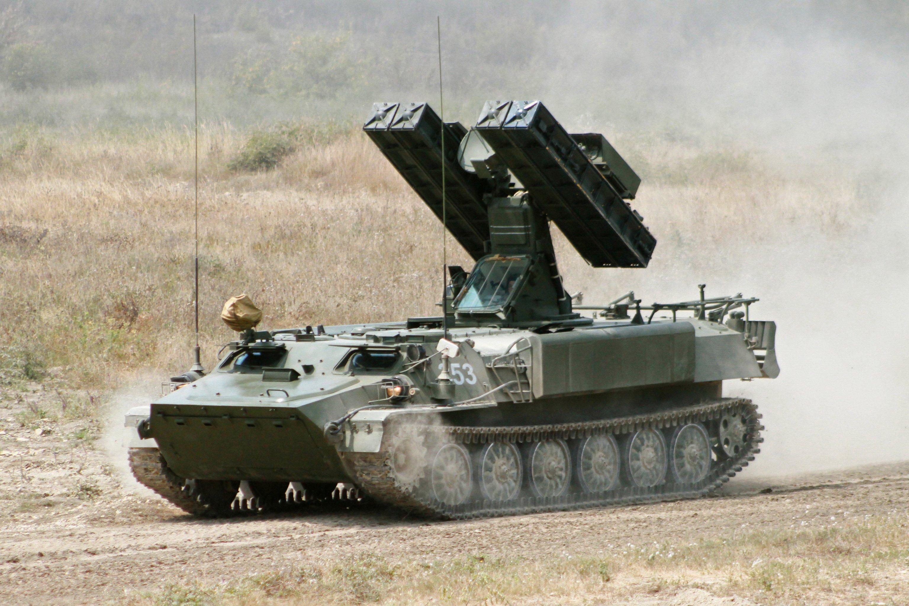 Strela-10MN, complejo de misiles teledirigido
