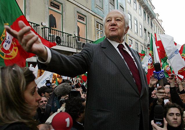 Mário Soares, expresidente de Portugal