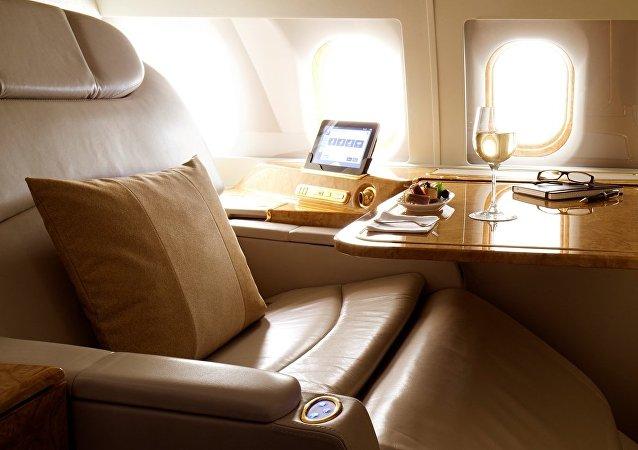 Un jet privado (imagen referencial)