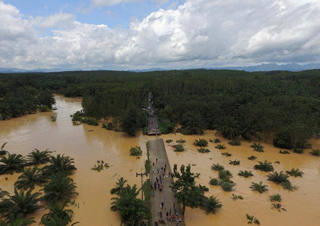 Consecuencias de las inundaciones en Tailandia