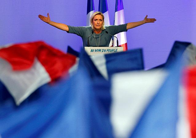 Marine Le Pen, líder del Partido Frente Nacional