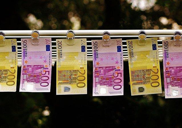 Billetes de euro (archivo)