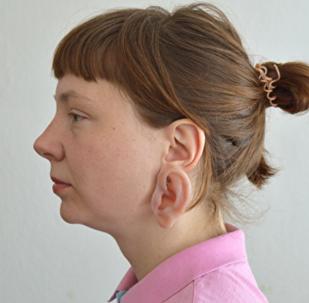 Pendientes con forma de orejas