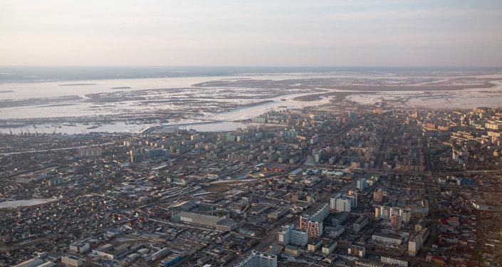 La ciudad rusa de Yakutsk