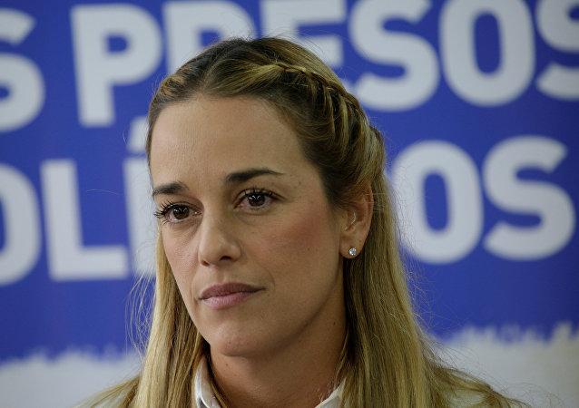 Lilian Tintori, esposa de Leopoldo Lopez