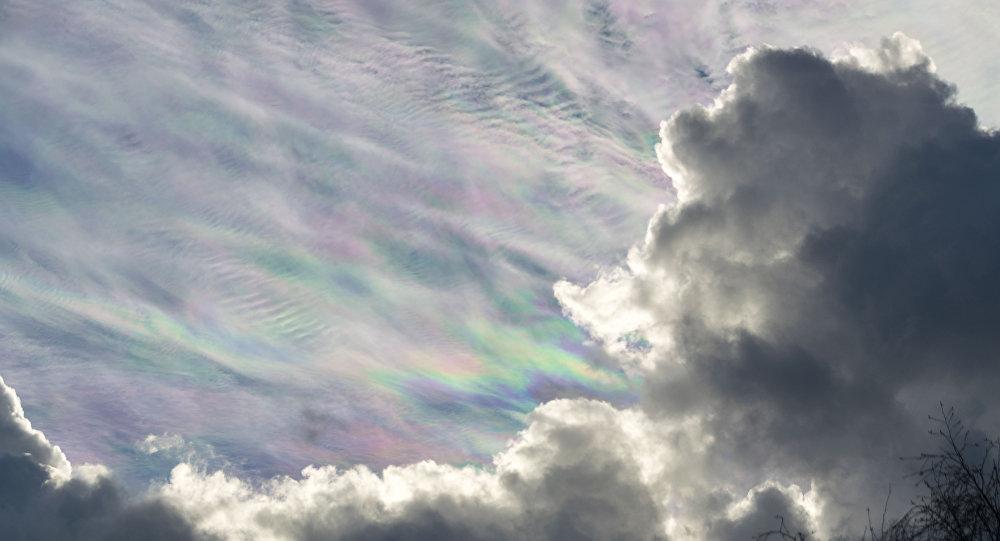 Nubes 'nacaradas'