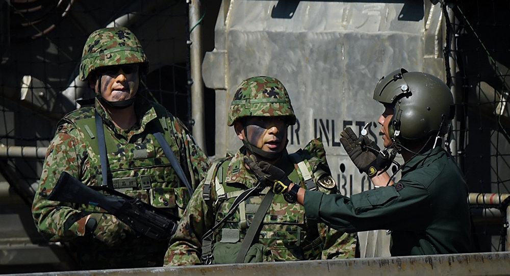 Militares japoneses (imagen referencial)