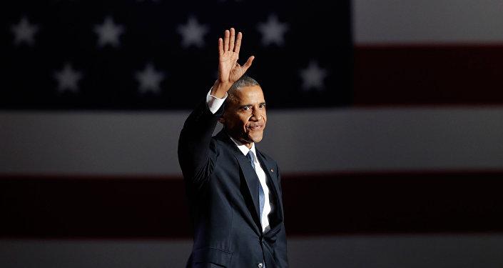 Barack Obama, expresidente saliente de EEUU