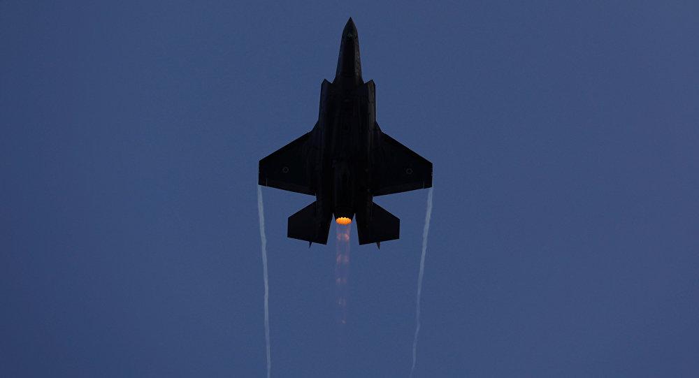 Un avión caza israelí (archivo)