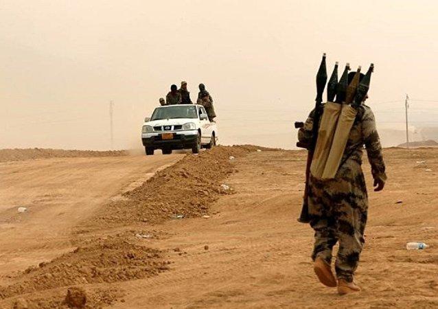 Los kurdos peshmerga en la operación para liberar Mosul