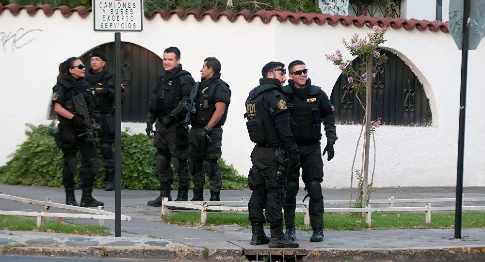 Policías chilenos (archivo)