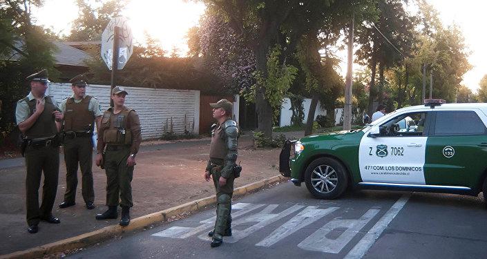 La Policía de Chile (archivo)