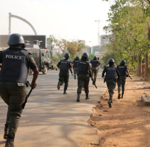 Policía en Nigeria (imagen referencial)