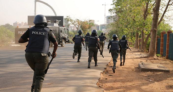 La policía de Nigeria