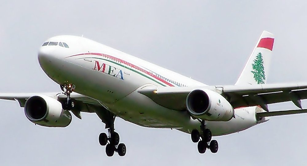 Un avión de Middle Eastern Airlines (archive)
