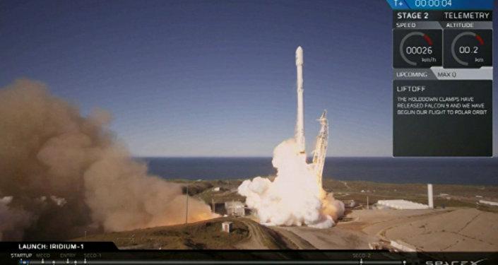 SpaceX lanza su cohete Falcon 9