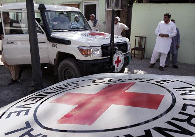Cruz Roja de Afganistán (Archivo)