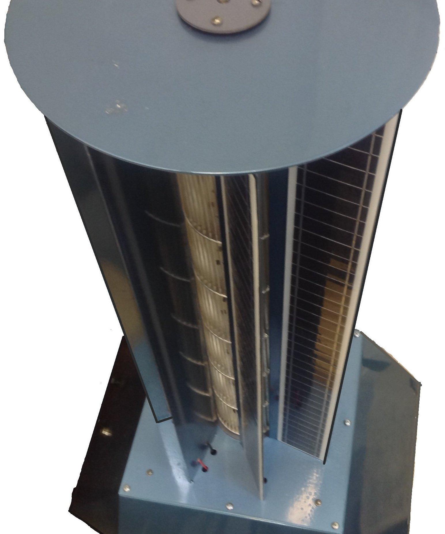 El prototipo del generador solar-eólico híbrido ruso