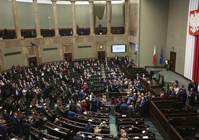 El parlamento de Polonia (archivo)