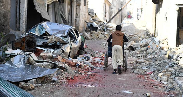 Un niño en Siria (archivo)