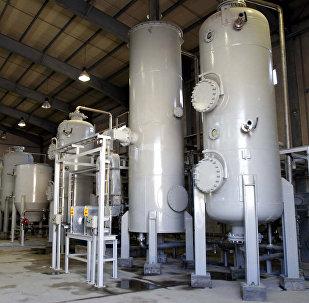 Reactor de agua pesada en Arak, Irán