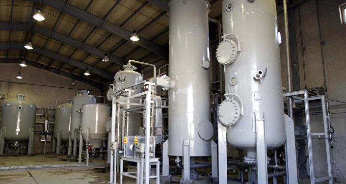 Reactor de agua pesada en Irán (archivo)