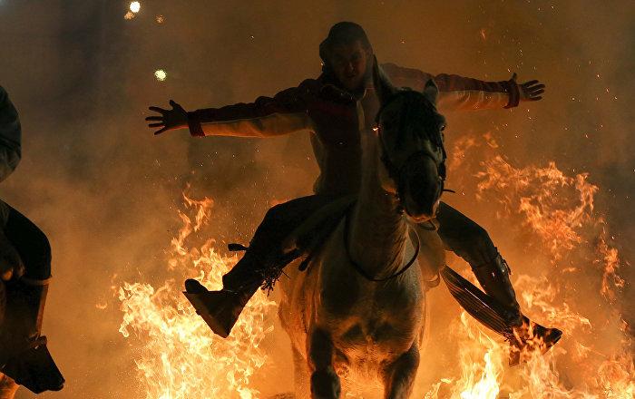 Las Luminarias o el festival de la purificación por el fuego en España