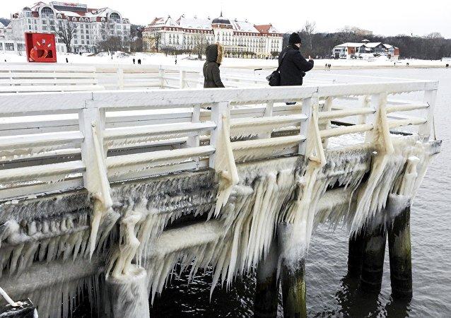 Invierno en Polonia (imagen referencial)