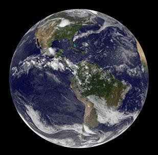 Imágen satélite de la Tierra (archivo)
